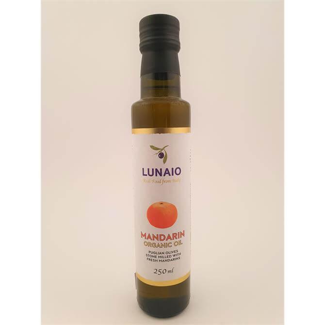 Lunaio Organic Extra Virgin Olive Oil With Mandarin 250ml